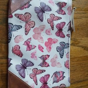 Small Travel Size Butterfly Makeupbag